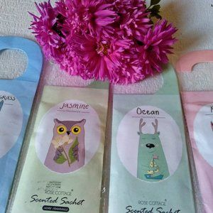 Rose Cottage 4 Packs Scented Sachets